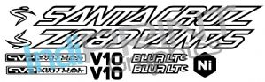 Santacruz V10, Blur, Bullit or Driver 8 Graphic set